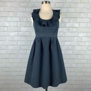 Annie Griffin Lela Ruffle Collar Dress B2628